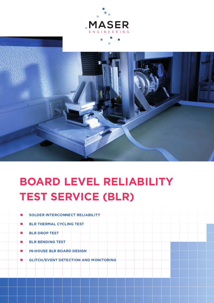 Board Level Reliability test