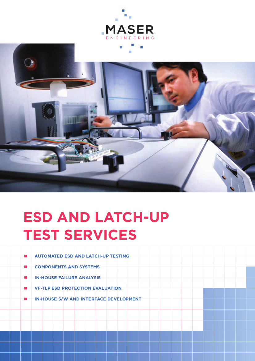 ESD & LU test services