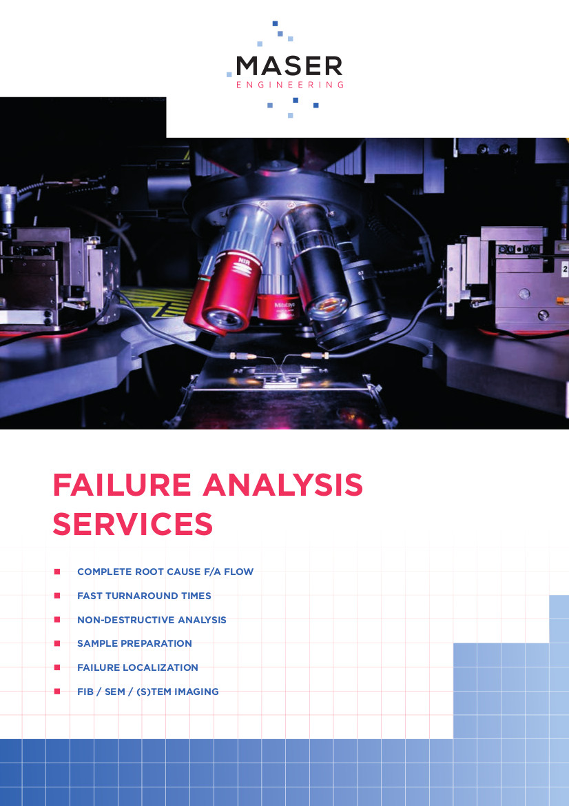 Advanced Failure Analysis leaflet