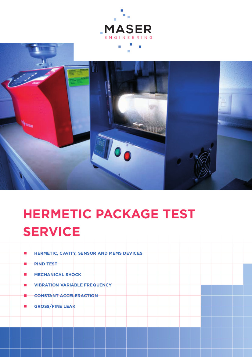 Hermetic Package Test