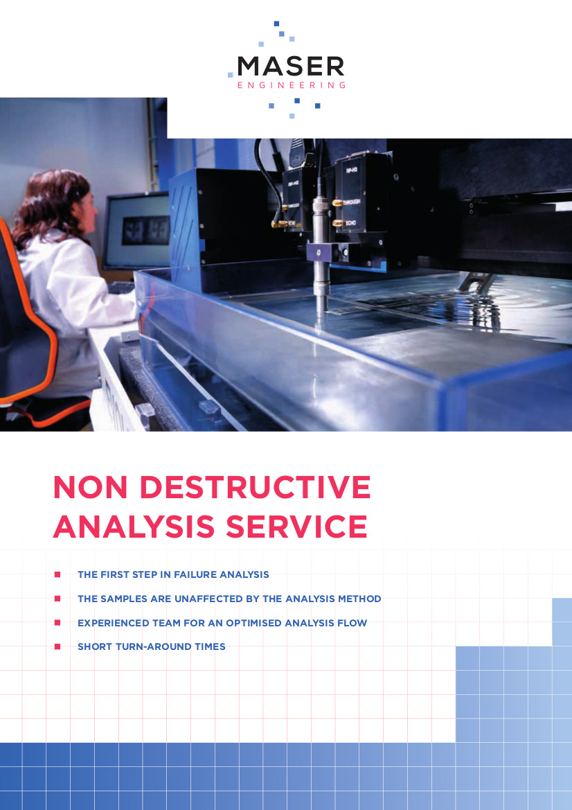 Non Destructive Analysis